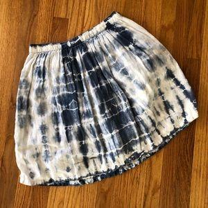 Madewell Acid Wash Denim Skirt